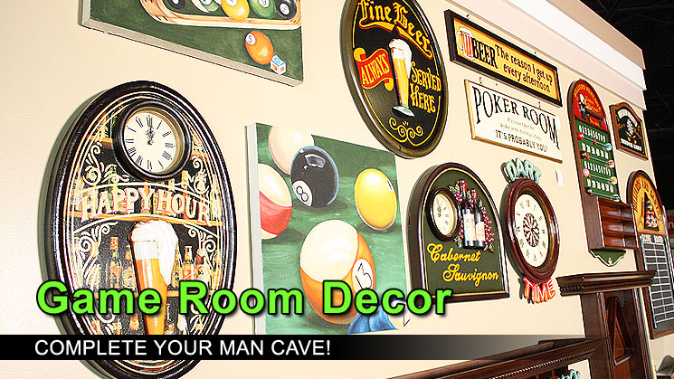 Room decor games photograph all game room decor family l for All decoration games