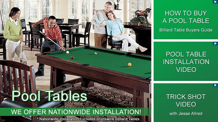 Pool Tables & Billiards Tables