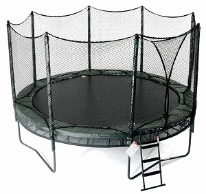backyard trampolines. Black Bedroom Furniture Sets. Home Design Ideas